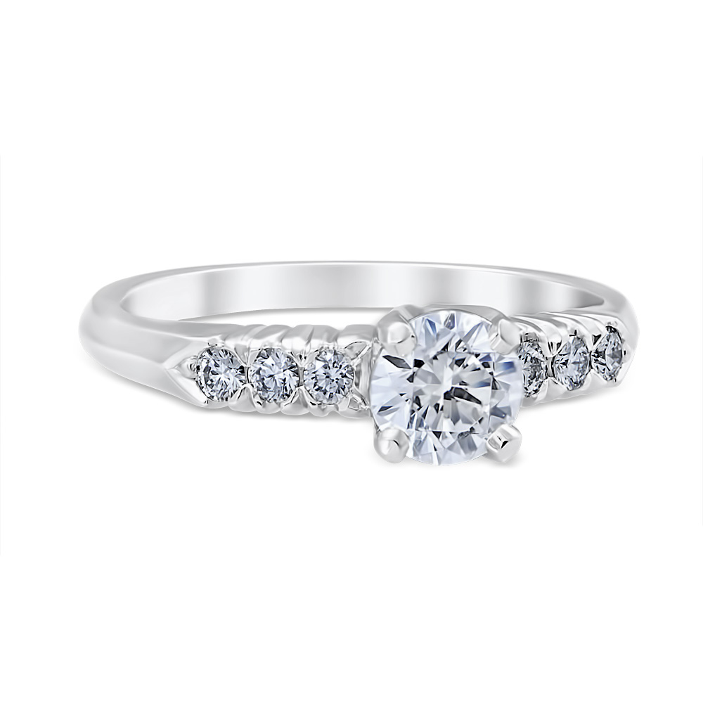 Donata 14K White Gold Diamond Ring