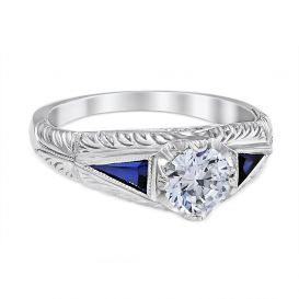 Anastasia Platinum Engagement Ring