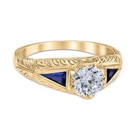 Anastasia 14K Yellow Gold Engagement Ring