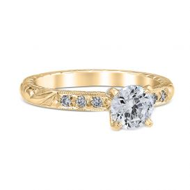 Alice 18K Yellow Gold Engagement Ring