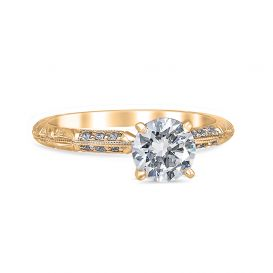 Anna 14K Yellow Gold Engagement Ring