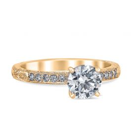 Bethany 14K Yellow Gold Engagement Ring